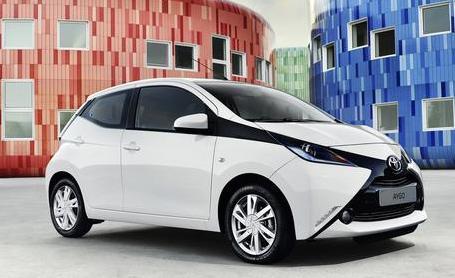 全新丰田aygo发动机多处改进 油耗3.9l