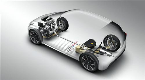 标致208  Hybrid FE 节能技术